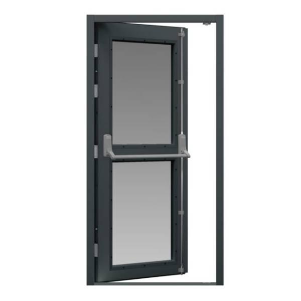 Glazed Fire Exit Door (Security)