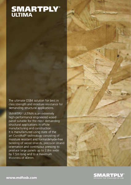 SMARTPLY ULTIMA - High Performance OSB Panel