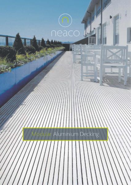 Neaco Modular Decking Brochure