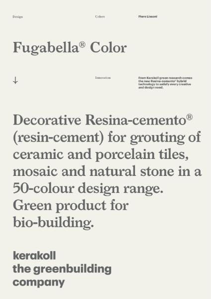 Fugabella Color Tiling Grout