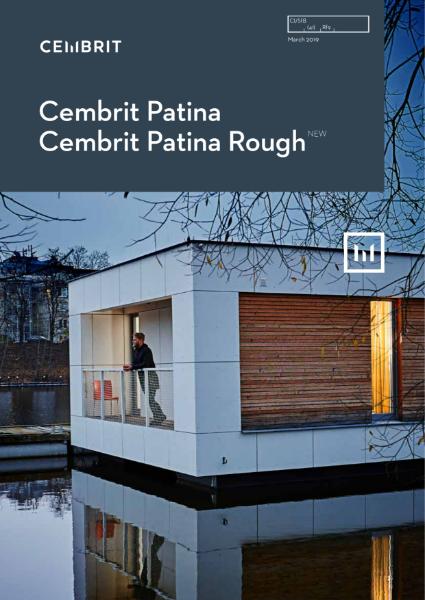 Cembrit Patina, Rough - fibre cement rainscreen cladding