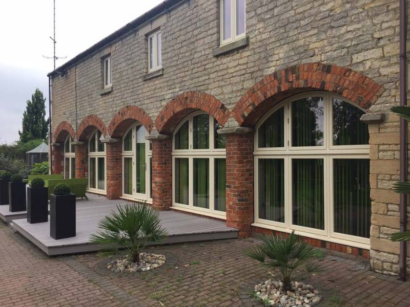 Bereco supply timber windows to character refurbishment in Sleaford