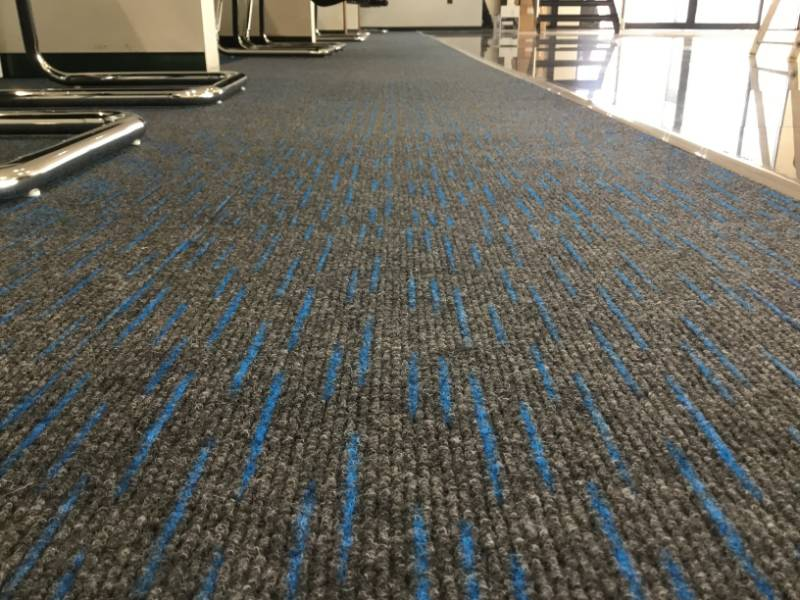 CAR SHOWROON - Dash Fibre Bonded Carpet Tiles