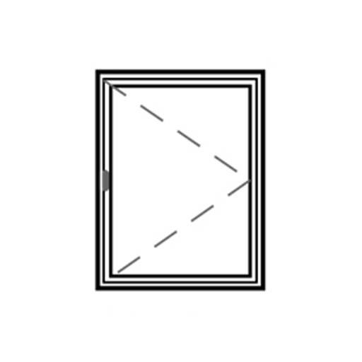 Series 45 Slimline Single Hinged Casement