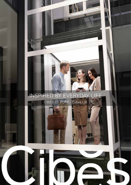 Cibes C1 Pure Cabin Lift Brochure