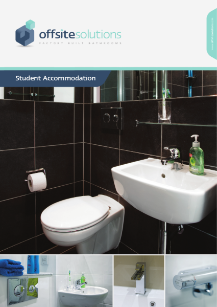 Offsite Solutions Student Accommodation Bathroom Pods Brochure