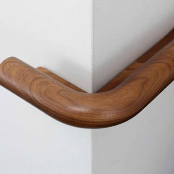 Anti-ligature Solid Wood Combined Hand-Protection Rail