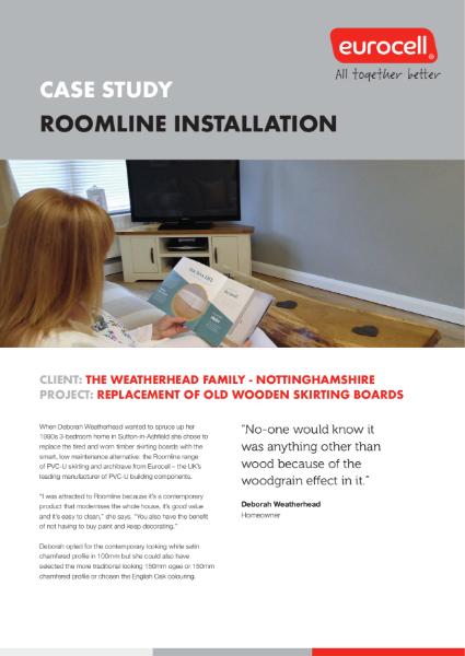 The Weatherhead Family Roomline Case Study