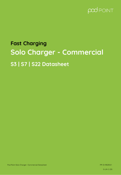 Solo Charger - Commercial