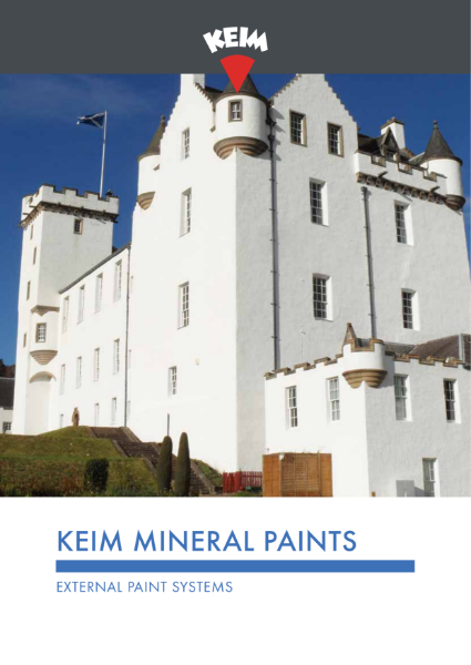 Keim Mineral Paints - Exterior Brochure
