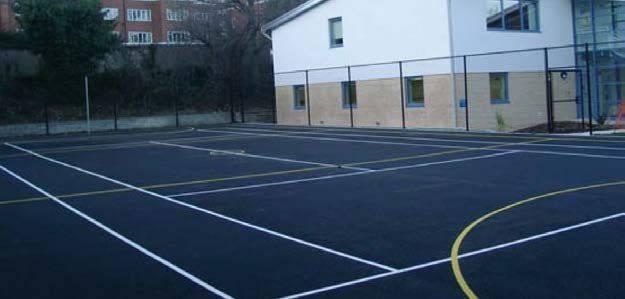 Porous asphalt concrete (PAC) surface courses