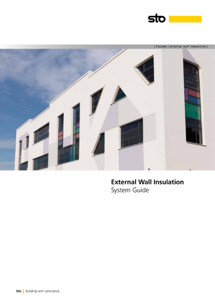 StoTherm External wall insulation systems guide