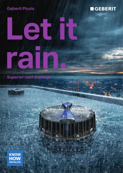 Geberit Pluvia Let it Rain