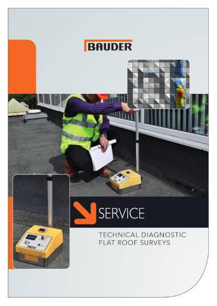 Bauder Technical Diagnostic Flat Roof Surveys