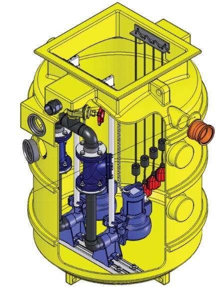 1160 Series Pump Chambers