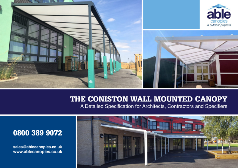 The Coniston Wall Mounted Canopy
