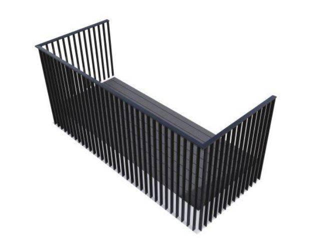 Cobalt MF Balcony System - Corner