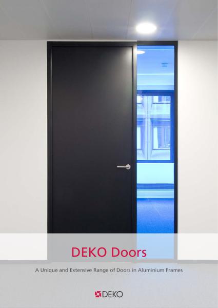 Deko Doors - Doors in Aluminium Frames