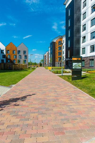 Award winning project - University of Hertfordshire, featuring Tobermore products, won RIBA East award for its architectural excellence
