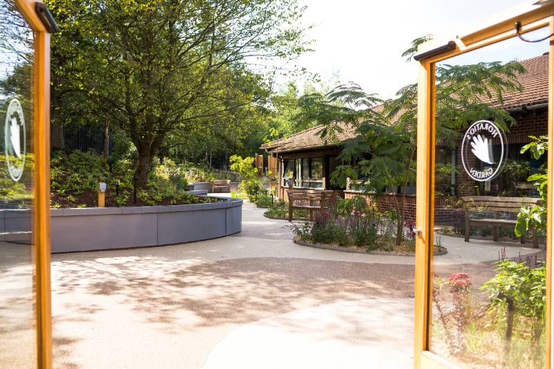 Horatio's Garden made accessible for NHS Spinal Centre