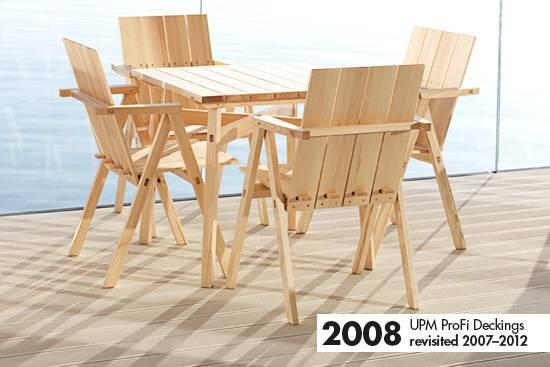 UPM ProFi Deck from 2008 - Piano Pavilion, Finland