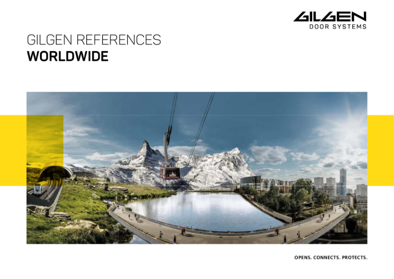 Gilgen World Wide Reference Brochure- Industrial Projects