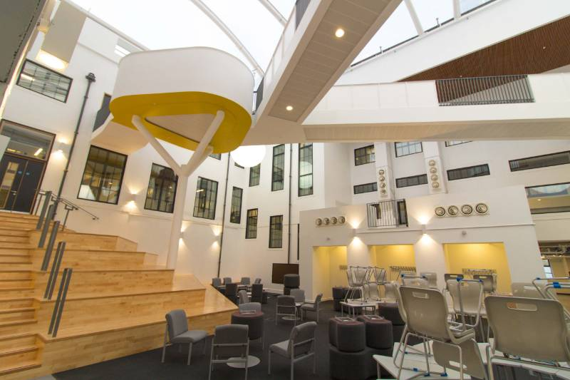 Marr College, Troon, Scotland - Pyroguard Integrity Plus, Rapide Plus & Protect