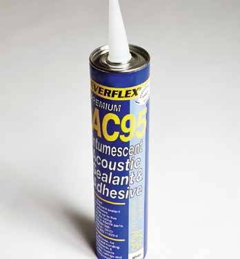 Hush Acoustic and Intumescent Sealant
