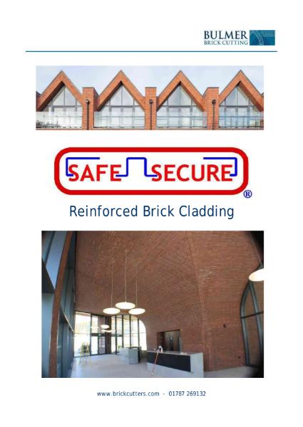 Safe-Secure Product Brochure 2019