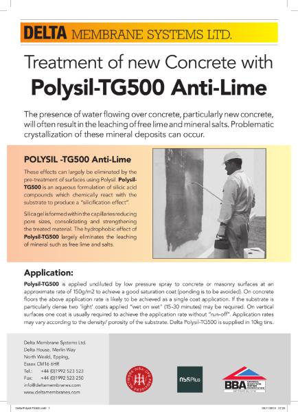Delta Polysil-TG500 Anti-Lime