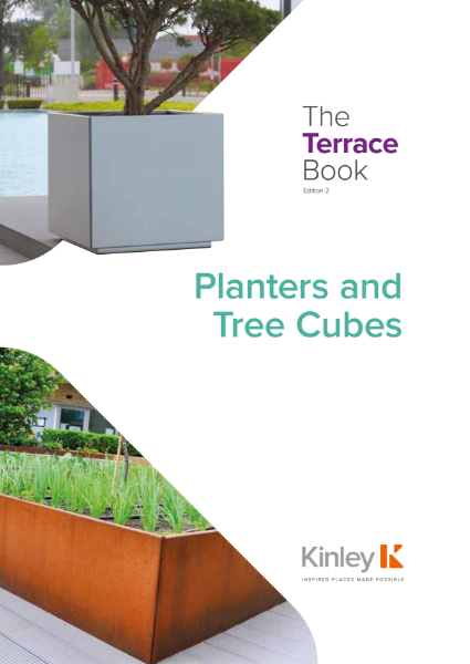Kinley Perimeta Steel Planter Systems