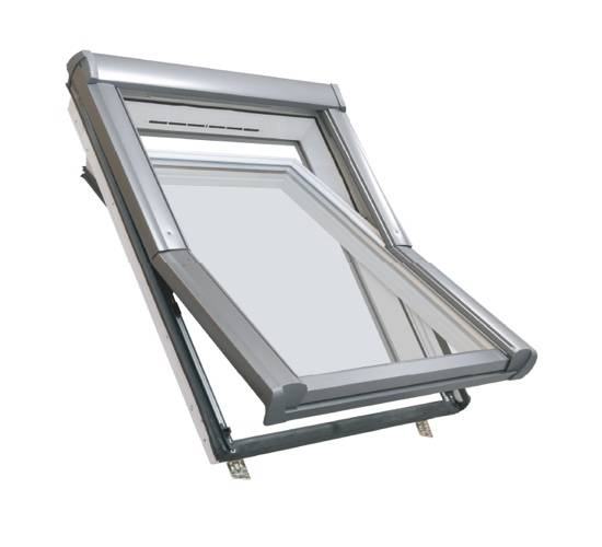 ETR4 Centre Pivot Roof Window, PVC