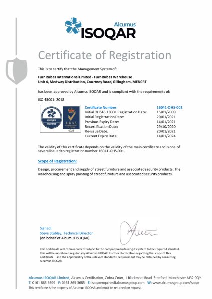ISO 45001-2018 - 2021