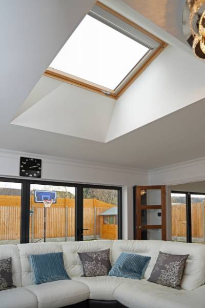 FAKRO roof windows for stunning bungalow conversion