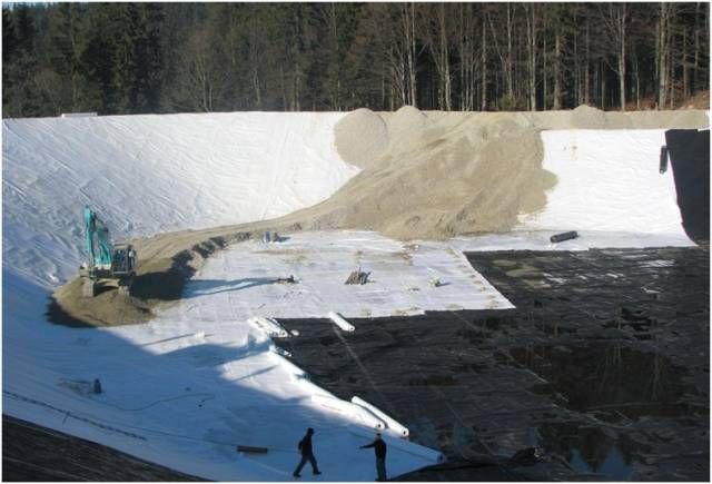 Geo NETEX A PP T UVLS Non-woven Thermally Bonded Geotextile