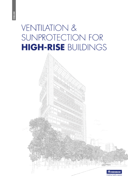 Ventilation & sun protection for High rise buildings