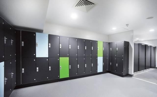 Marathon Laminate Dry Area Lockers