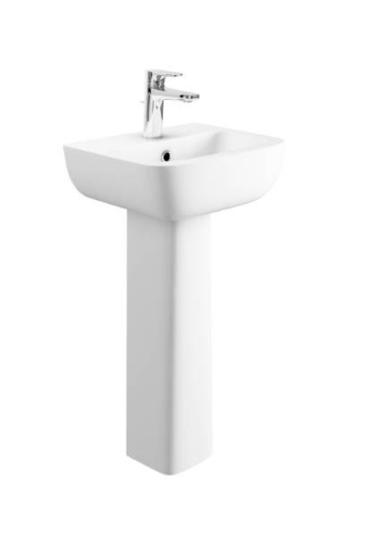 Designer Series 3 43 cm 1TH basin and pedestal set