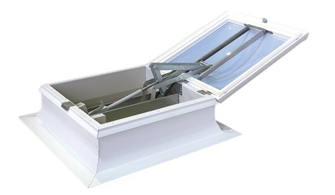 160 AOV Polycarbonate - Roof top smoke ventilator
