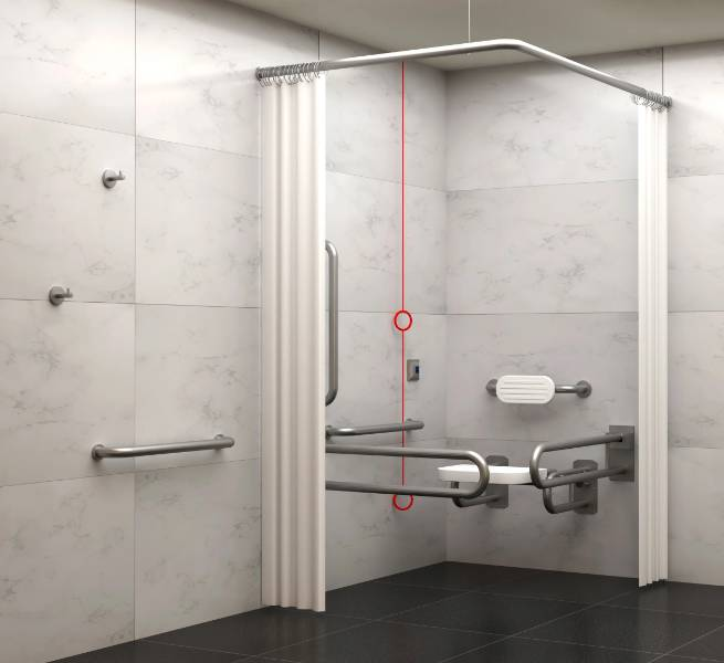 BC5083-SHV Dolphin Stainless Steel Doc M Shower Set