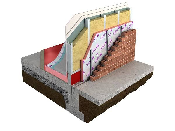 Safe-R SR/FB Framing Board Insulation
