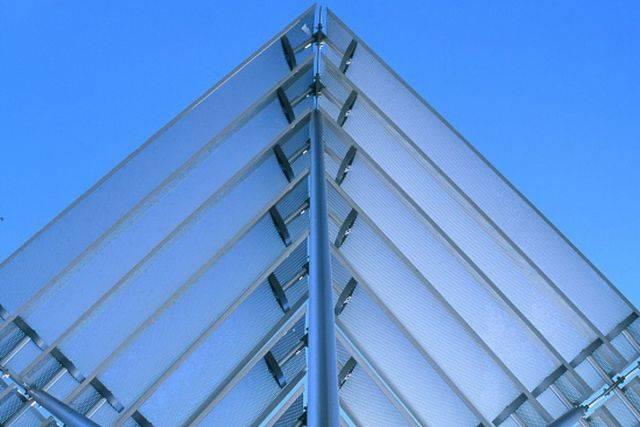 Solar C fixed brise soleil shading system