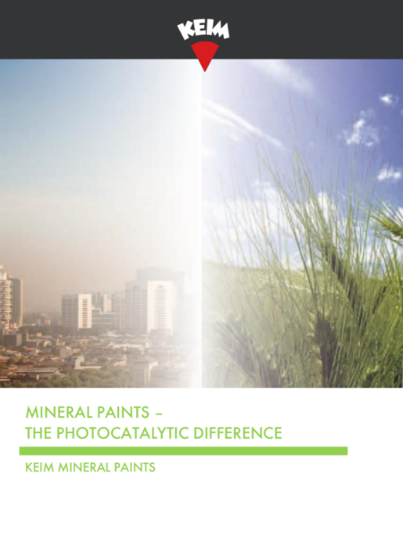 Photocatalytic Difference - Keim Soldalit-ME & Keim Ecosil-ME