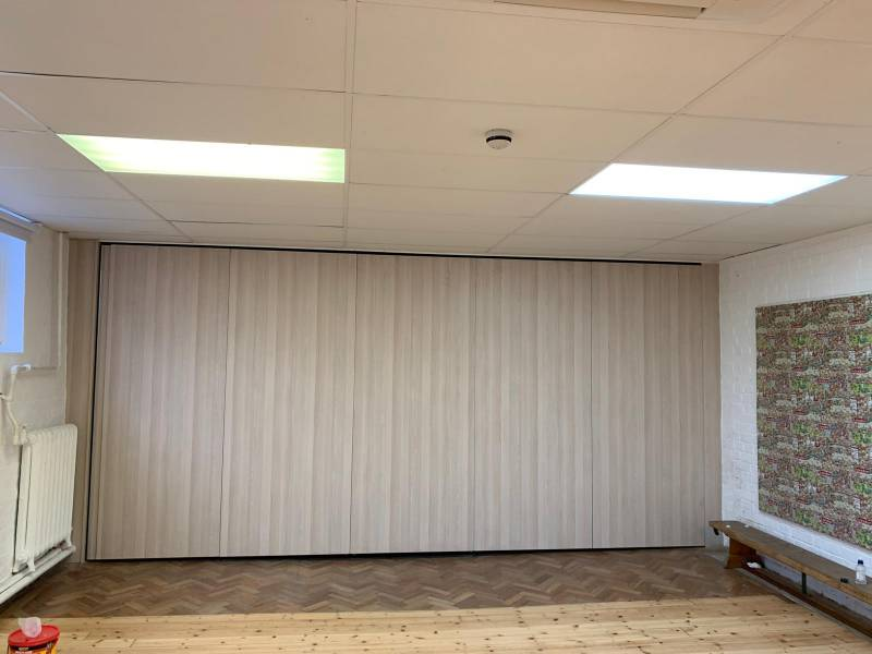 Acoustic Moveable Wall adds value to a School