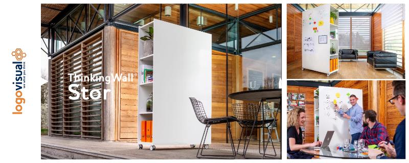 ThinkingWall Stor Mobile Storage Whiteboard Flyer