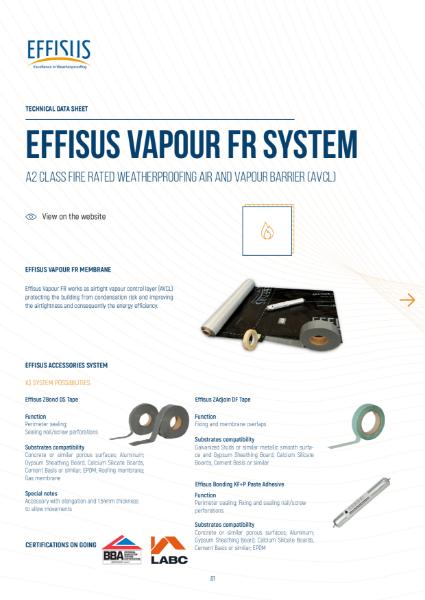 Effisus Vapour FR System