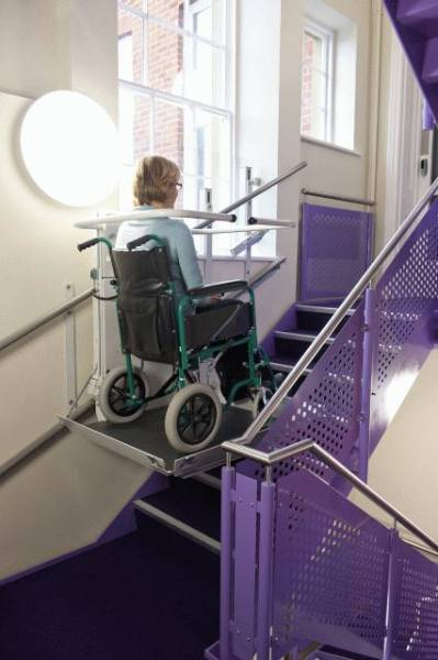 Inclined Platform Lift – The Stairiser