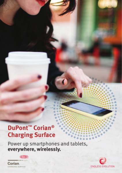 DuPont Corian Charging Surfaces