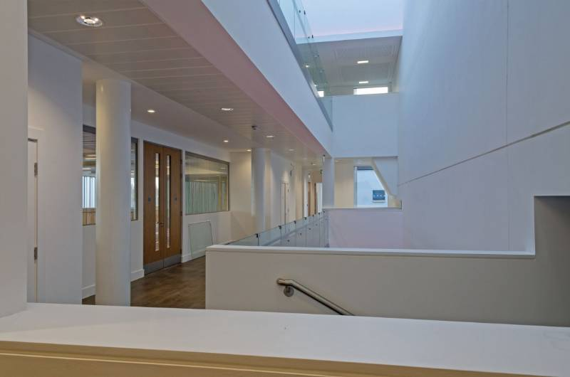 "fermacell partitioning is ""positively"" perfect for research complex"