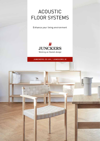 Junckers Acoustic Floor Systems